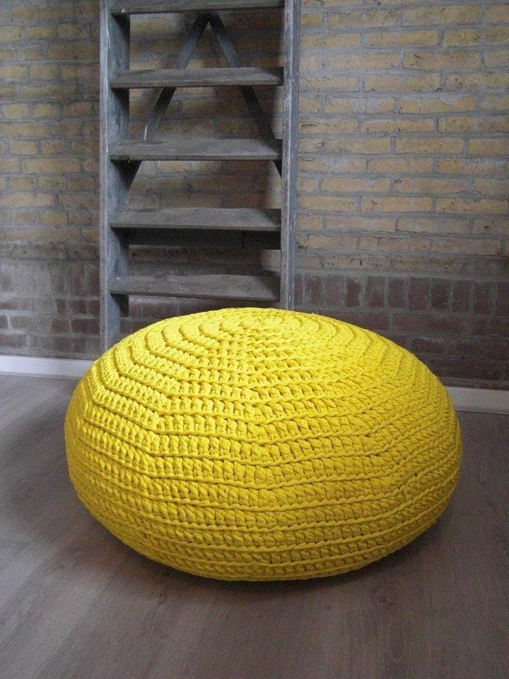 pouf trapilho trapilho pinterest. Black Bedroom Furniture Sets. Home Design Ideas