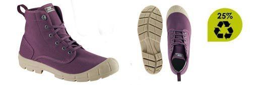 zapatillas STEPPE 100 de Decatlon: suela fabricada con conchas de ostras y tejido a base de botellas de plástico recicladas.