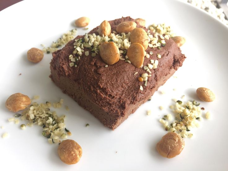 No added sugar mocha protein log with chocolate probiotic icing, hemp and sacha inchi seeds - Travelling Dietitian, Kara Landau shares a healthy dessert recipe .