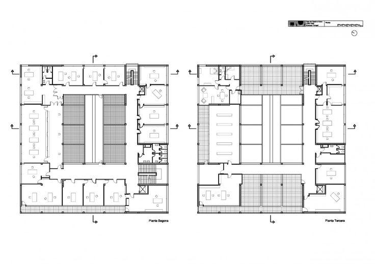 Pläne des Casa del Fascio