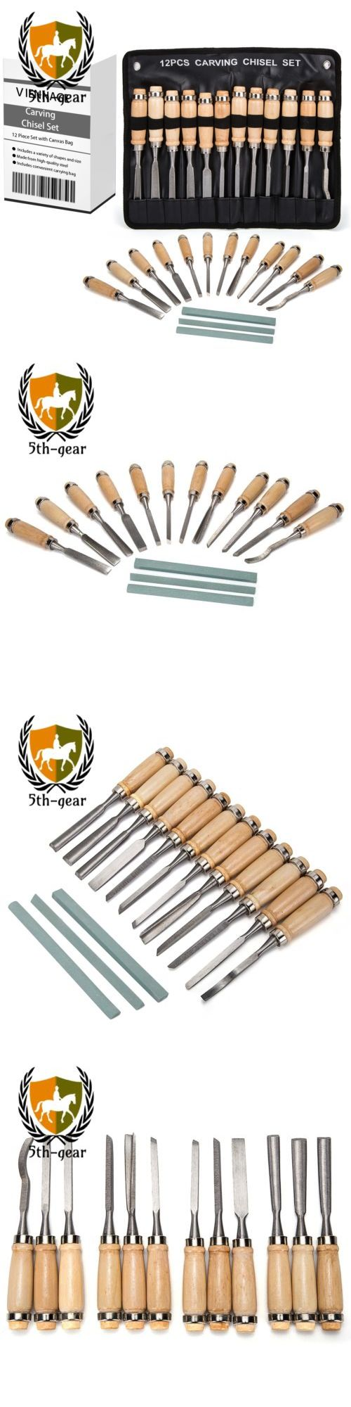 Wood Carving Hand Tools 160677: Viennage Wood Carving Chisel Set- 15 Piece Professional Tools With Carrying Case -> BUY IT NOW ONLY: $50.66 on eBay!