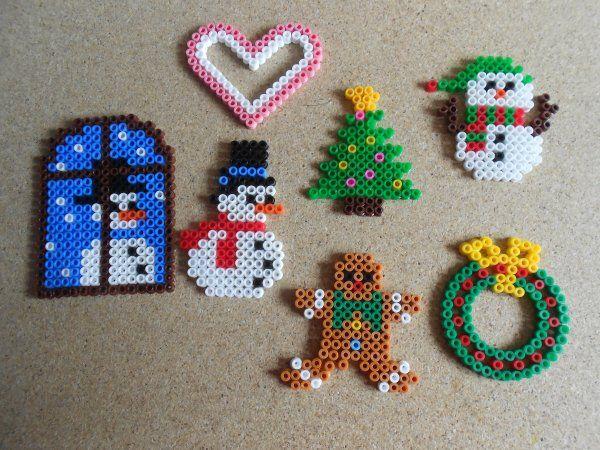 Perles à repasser : Noël