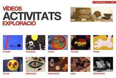Educació i les TIC: Play Miró: treballem Joan Miró