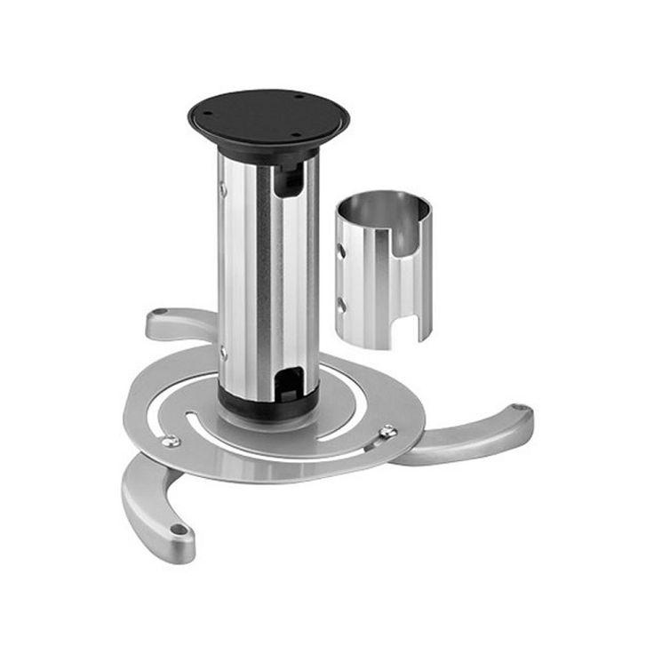 BEAMER-C80  Met de NewStar Projector / beamer beugel monteert u uw projector probleemloos aan ieder plafond. De beugel is universeel en past hierdoor op bijna alle projectoren en beamers. De beugel is te kantelen en draaien. Doordat de paal instelbaar is kan u hoogtes van 8 tot 15cm overbruggen. In de paal werkt u de kabels weg zodat het geheel er verzorgt uitziet. De paal heeft een dikte van 6cm.  EUR 61.90  Meer informatie