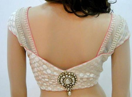 blouse back designs for lehenga for Indian brides 9