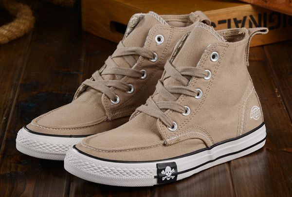 d58988f6232b Dickies V Converse MMJ Avril Lavigne Beige Chuck Taylor High Tops Casual  Shoes  converse  shoes