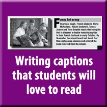 FUN WRITING ACTIVITY: Caption writing made easy #journalism