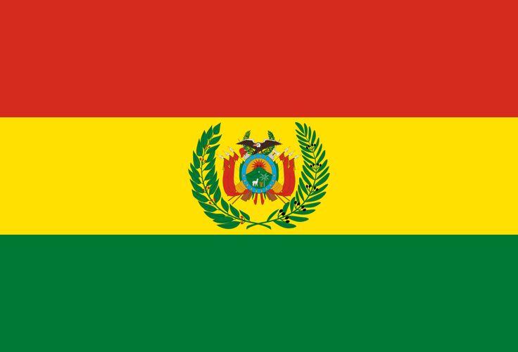 Military flag of Bolivia