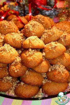 Греческое рождественское печенье Меломакарyн, мягкое