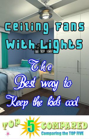 Kids ceiling fans with lights