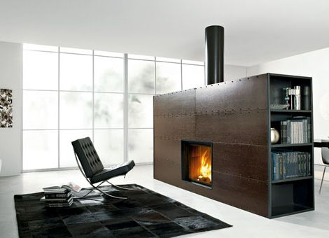 modern outdoor fireplaces designs   Modern Fireplaces from Edilkamin - simply gorgeous