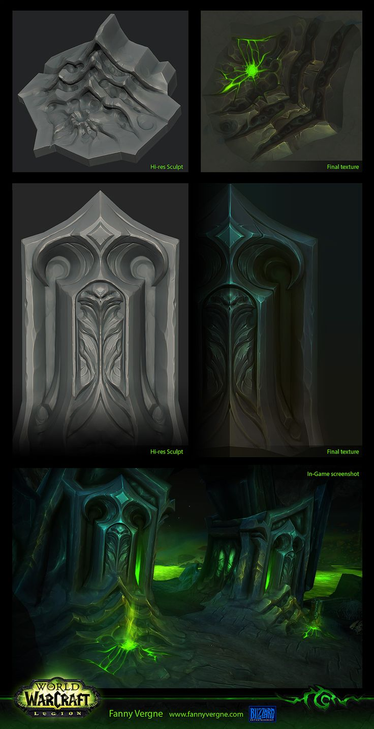 Texturing - World of Warcraft Legion