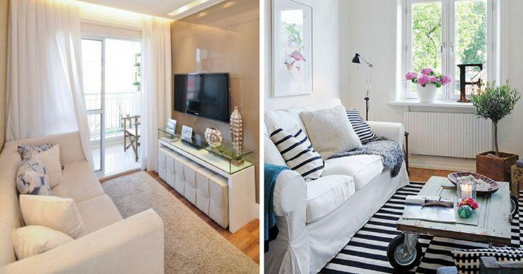Las 25 mejores ideas sobre salas de estar peque as en for Idea decorativa sala de estar pequeno espacio
