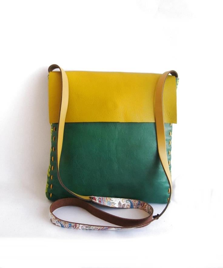 geanta din piele de CarinBags Breslo