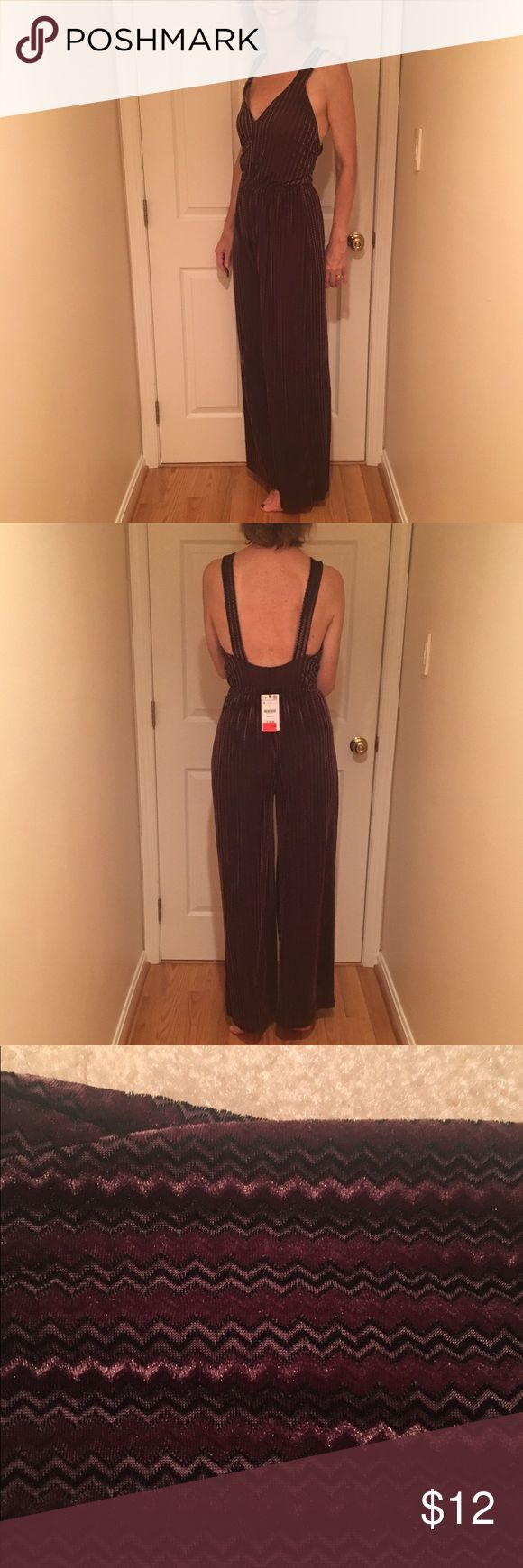 """FLASH SALE Zara Brown Jumpsuit Super soft brown Jumpsuit from Zara """"trafaluc"""" NWT velvet seventies vibe! Sold out in stores and online Zara Pants Jumpsuits & Rompers"""