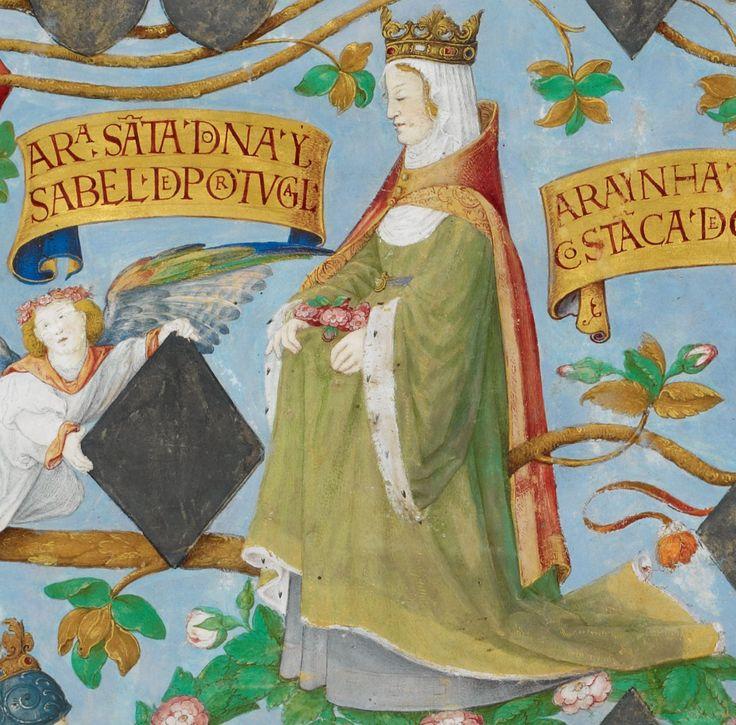 Genealogia dos Reis de Portugal  Isabel de Aragão, Rainha Santa
