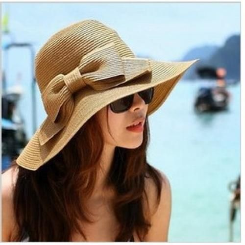 Mao Beach Hat - Straw fordable hat
