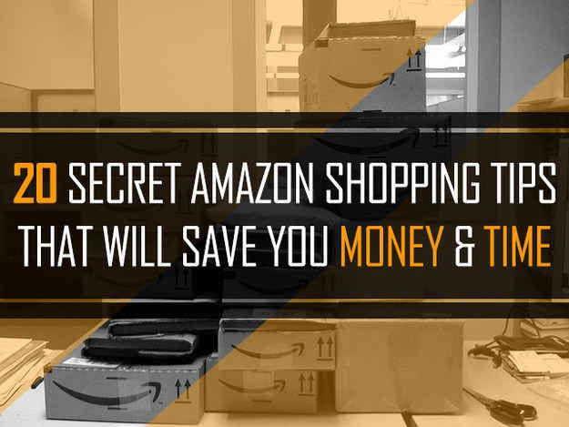 20 Secret Tips Everyone Who Shops On Amazon Needs To Know