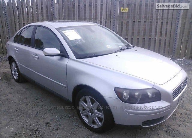2006 #VOLVO S40 for Sale at Salvage #Cars For Auction at SalvageBid.com