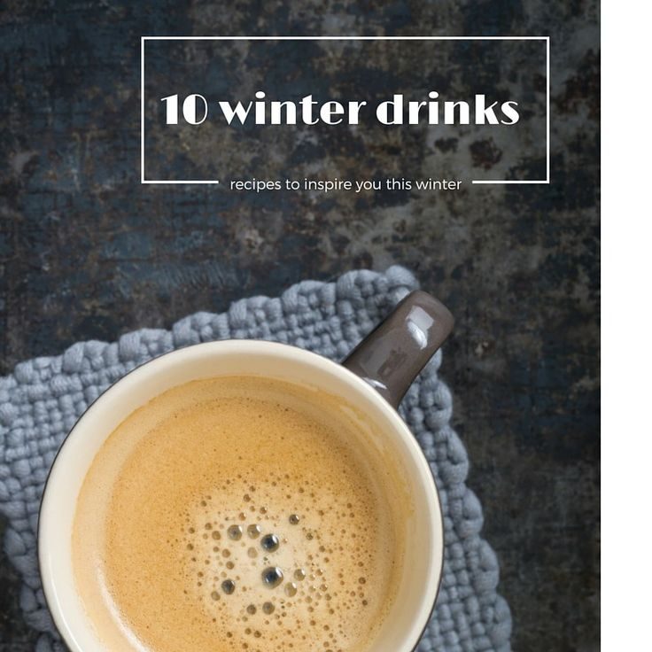 NEW ON THE BLOG: My winter drinks collection - Guaranteed to be your comfort in a cup x
