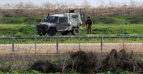 osCurve   Contactos : Grupos palestinos destruyen un vehículo blindado i...