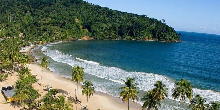 Maracas Beach, Port of Spain, Trinidad.  #PortofSpain #Trinidad #LesserAntilles #beach #island #cruise #Caribbean #vacation #MaracasBeach #southerncaribbean