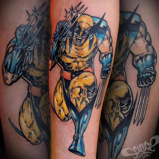Finished this WOLVERINE piece today, all linework healed!!!! Cheers Alex!!  #wolverine #tattoo #ink #wolverinetattoo #marvel #marveltattoo #xmen #comic #comictattoo #tattoosofadelaide #inkersdownunder #superhero #logan #inkjecta #inkammunition