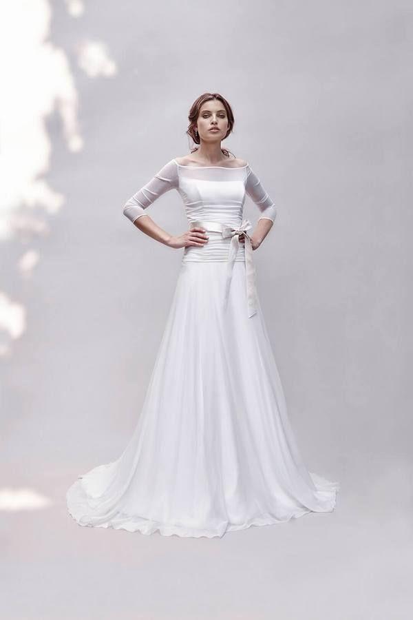 abiti da sposa 2017 claraluna 52375 | Sposalicious