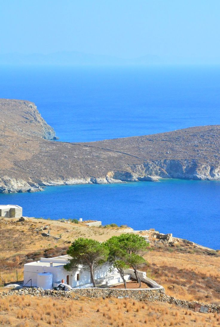 One of my favorite views on Serifos island.  Read about the top things to do here!
