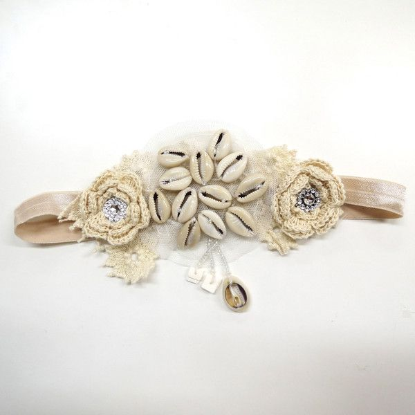 Erin Louise shell collector headband