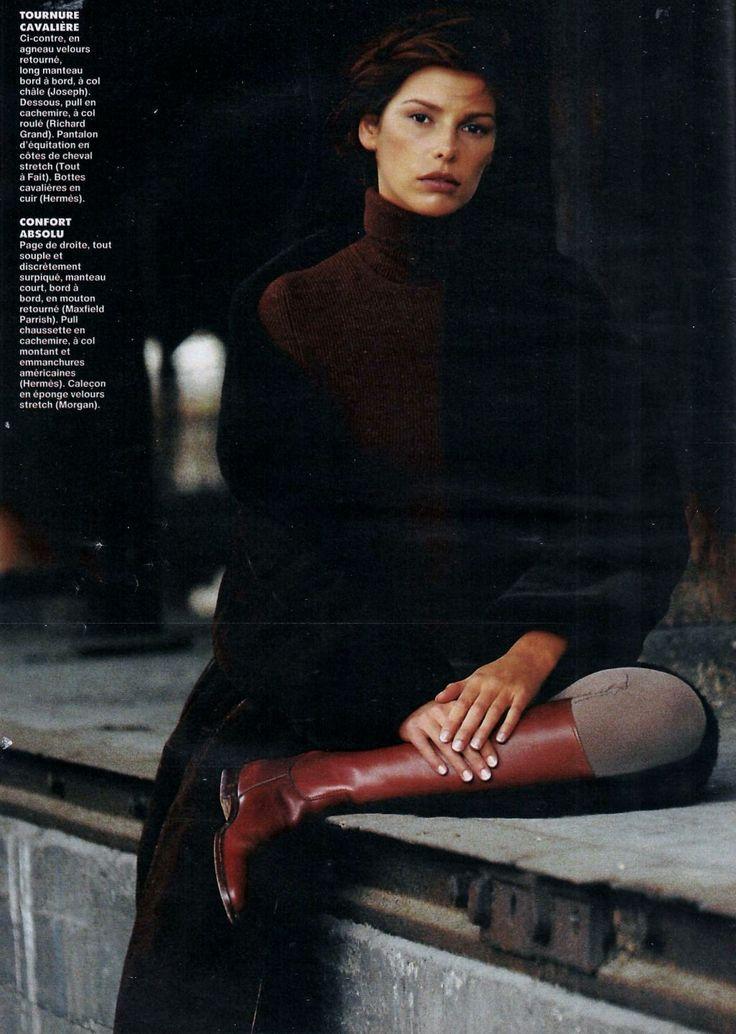Claire Dhelens ELLE November 1993