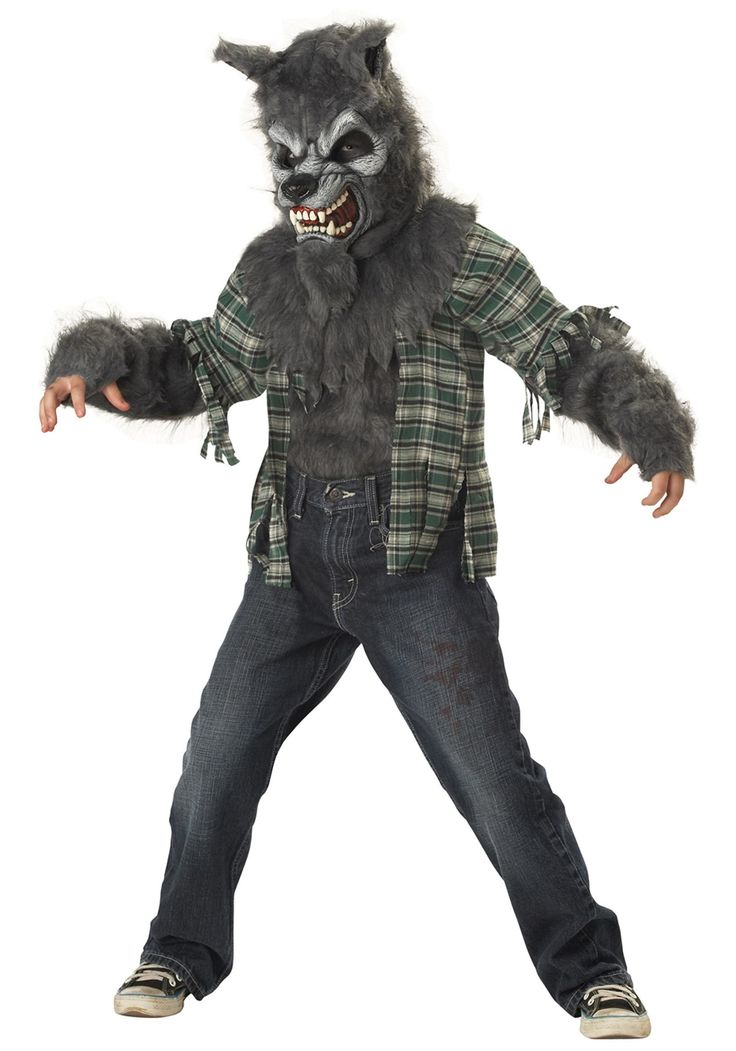 Werewolf Toys For Boys : Child werewolf costume in clothing shoes accessories