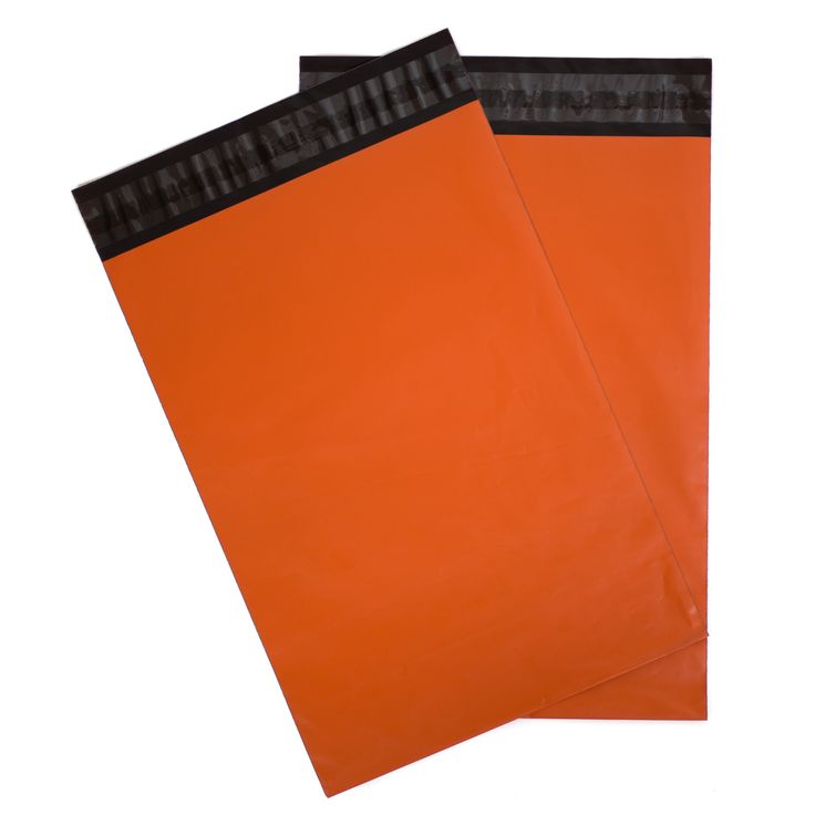 Orange Shipping Envelopes 8.5 x 12 - Pack of 100