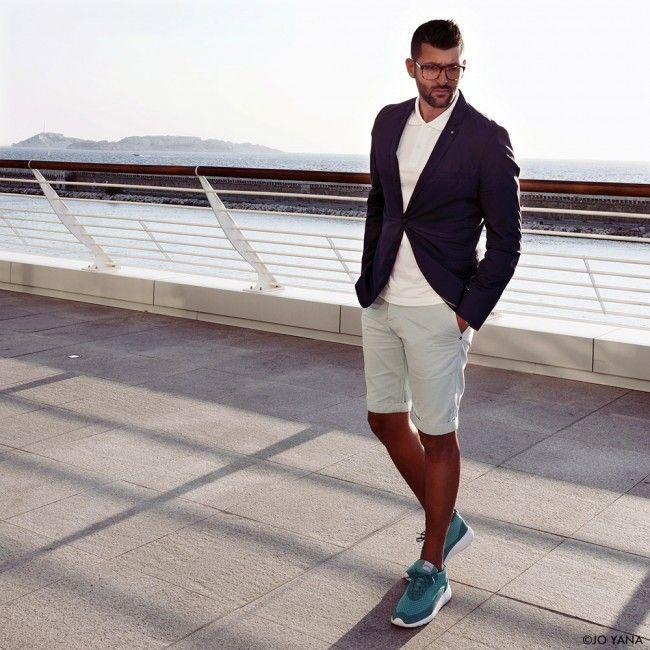 On aime le look de Jo Yana en bermuda Edwin Europe shoppé sur www.unclejeans.com  #lotd #ootd #style #menstyle #blogmode #modehomme #fashion #bermuda #mode #tendance #EdwinEurope