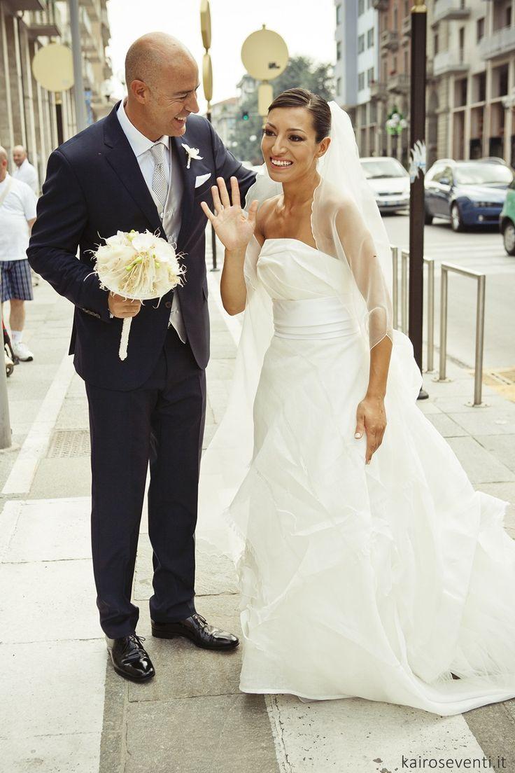 Gli sposi    Wedding designer & planner Monia Re - www.moniare.com   Organizzazione e pianificazione Kairòs Eventi -www.kairoseventi.it   Foto Oscar Bernelli