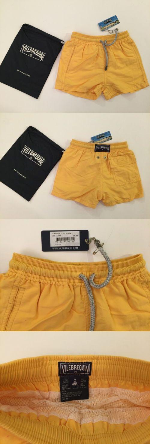 Swimwear 147339: New W Tags And Bag Authentic Vilebrequin Swim Trunks Swimwear Boys 2T 2Y Kids -> BUY IT NOW ONLY: $55 on eBay!