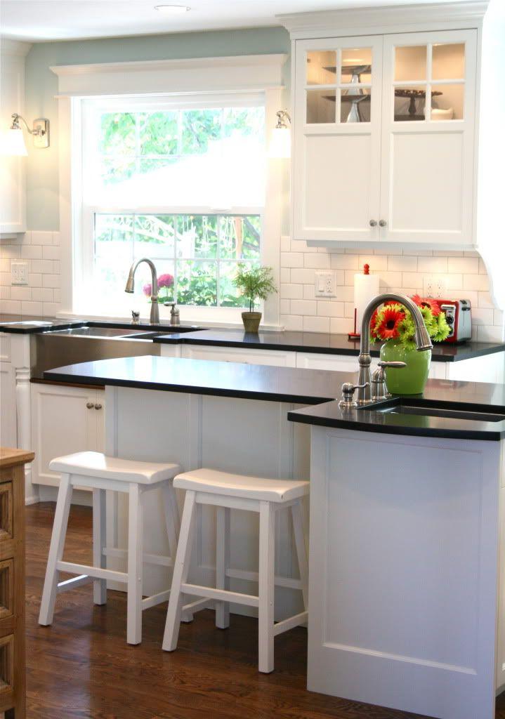 kitchen sink window  Keuken  Pinterest