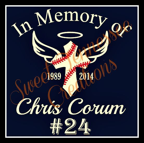 Custom Baseball In Memory Of Decal Baseball By