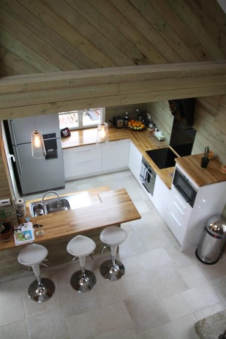 Chalet Moderne // http://www.deco.fr/photo-deco/decoration-chalet-moderne-012-3684798.html