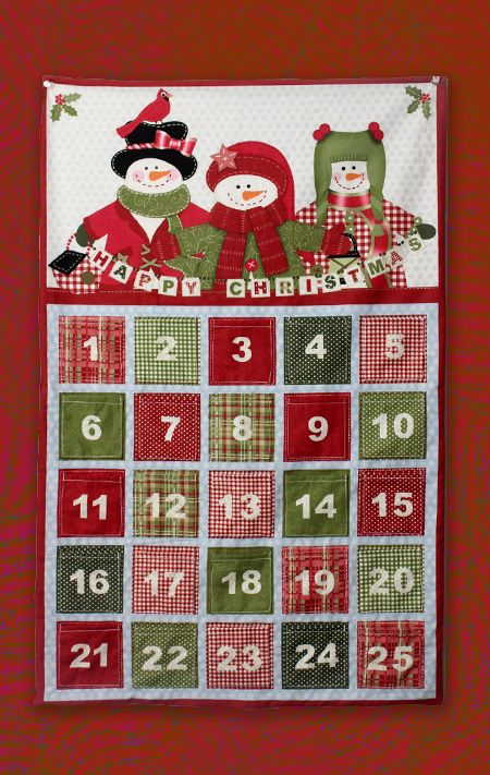 Sewn Advent Calendar Ideas : Ideas about fabric advent calendar on pinterest