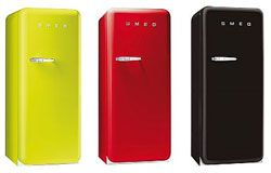 A reader tip confirmed that SMEG refrigerators are now available at Sears — opening up accessibility to the colorful and compact chillers for many more potential consumers. The smaller scale, retro-style Italian fridges became available in the U.S. only recently and the move to Sears --iSMEG Refrigerators at Sears