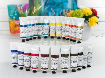 '11 Essential Oil Painting Supplies for Beginners...!' (via The Craftsy Blog)