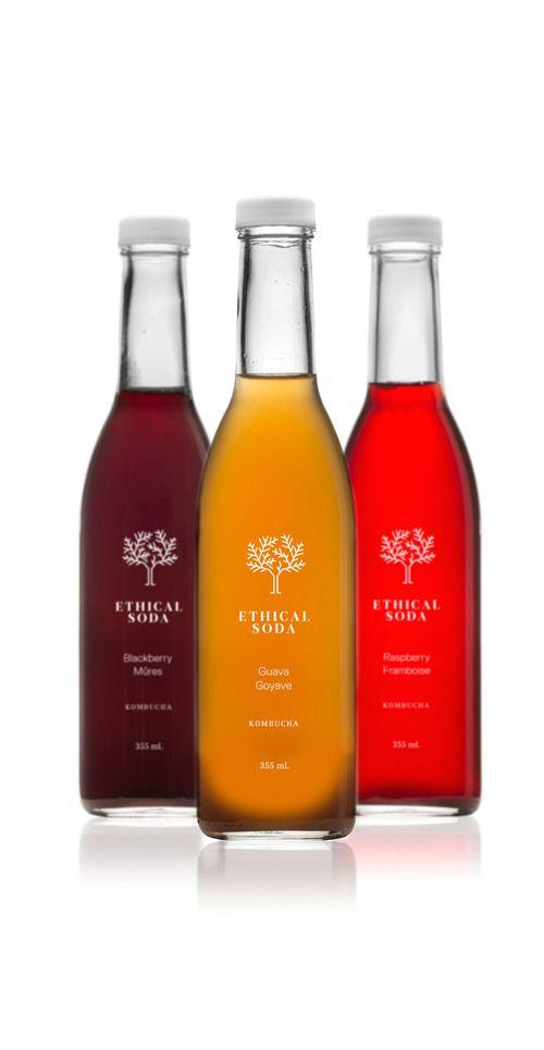 label / ethical soda / minimal