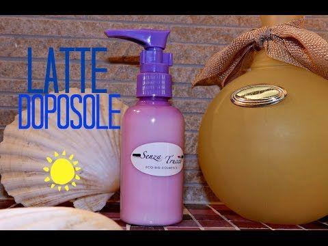 Latte corpo doposole FAI DA TE 100% naturale! - YouTube