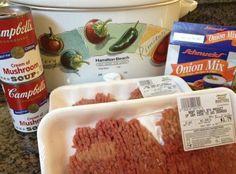 Crockpot Cube Steak & Gravy Recipe   Just A Pinch Recipes
