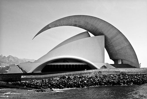 #Tenerife Concert Hall, Canary Island, Spain #architecture #buildings