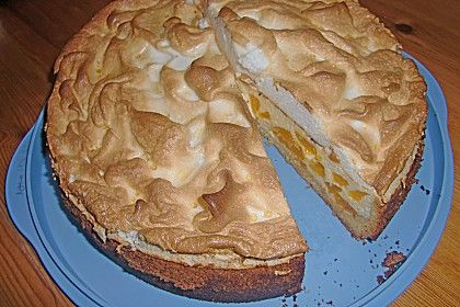 Mandarinen - Quark - Kuchen mit Baiserhaube 1