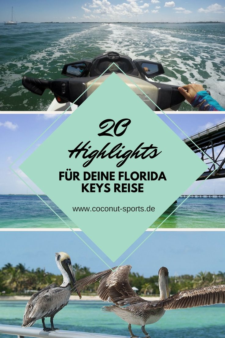 Die Florida Keys gehören zu den schönsten Reisezielen, die ich in diesem Jahr besuchen durfte. Hier sind meine 20 Gründe für eine Florida Keys Reise.