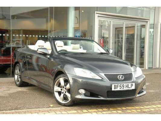 Used 2009 (59 reg) Grey Lexus IS 250C SE-L 2dr Auto for sale on RAC Cars