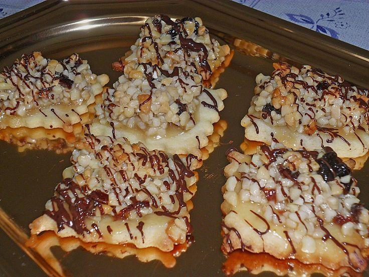 Florentiner Kekse, ein gutes Rezept aus der Kategorie Kekse & Plätzchen…